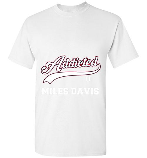 Addicted To Miles Davis Baseball Unisex Classic Shirt
