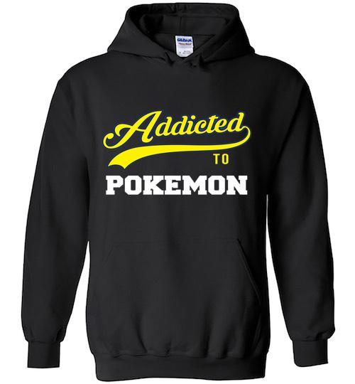 Addicted To Pokemon Baseball Style Hoodie