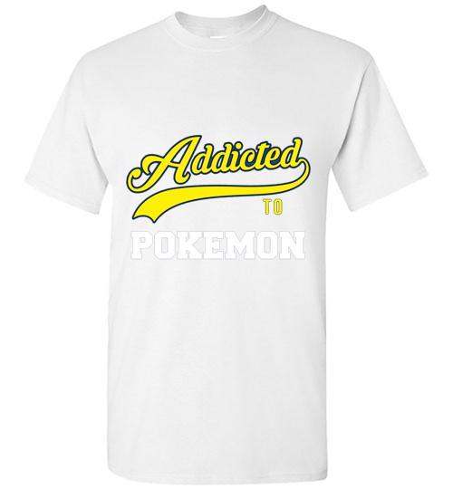 Addicted To Pokemon Baseball Style Unisex Classic Shirt