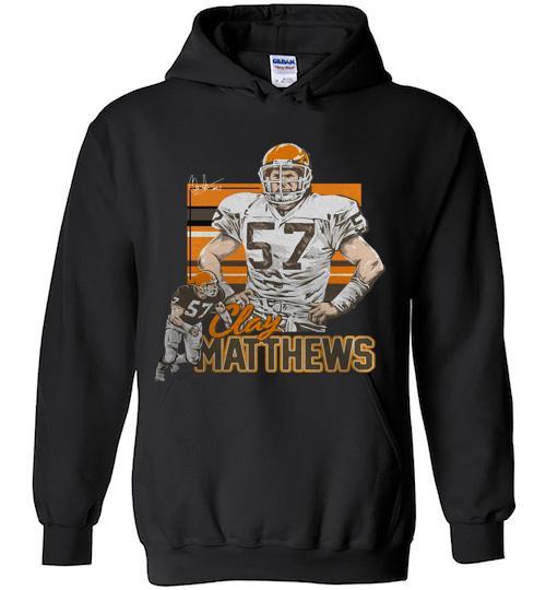 Clay Matthews Cleveland Browns vintage signature Hoodie