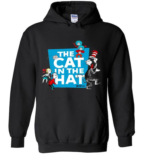 Dr Seuss The Cat in the Hat Characters Hoodie