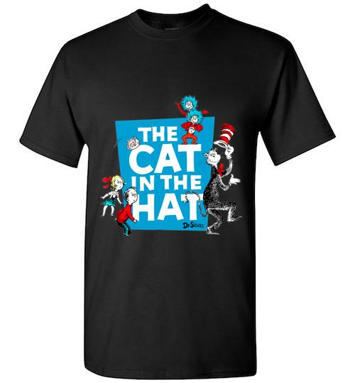 Dr Seuss The Cat in the Hat Characters Unisex Classic Shirt