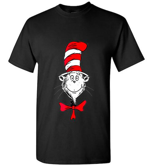 Dr Seuss The Cat in the Hat Face Unisex Classic Shirt