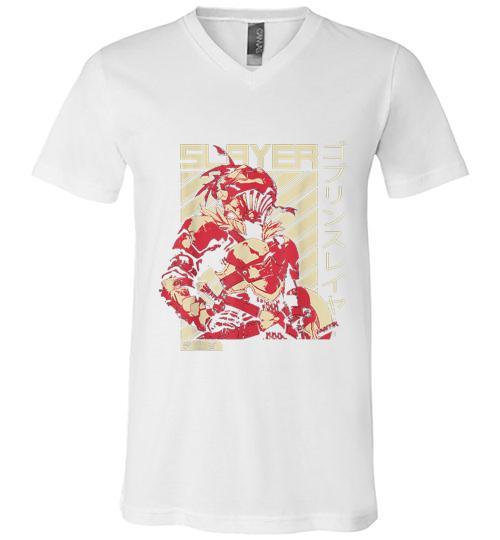 Goblin Slayer Anime Men V Neck Shirt