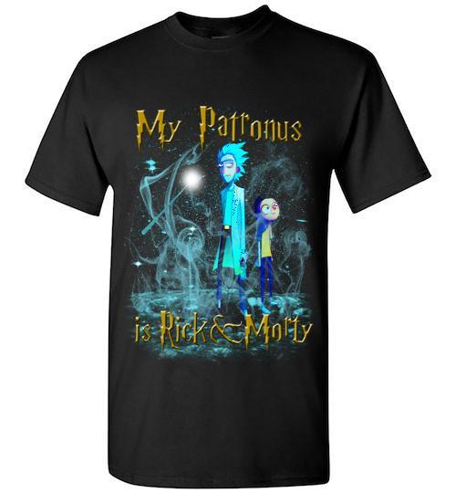 Harry Potter Rick And Morty Mug My Patronus Is Rick And Morty Unisex Classic Shirt
