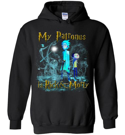 Harry Potter Rick And Morty Mug My Patronus Is Rick And Morty24 Hoodie