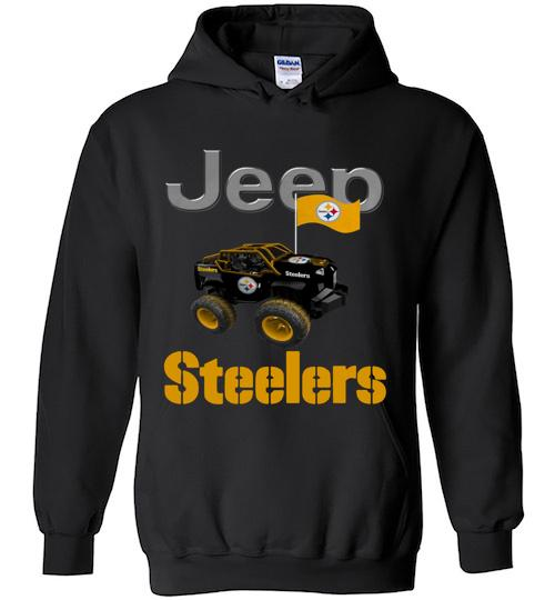 Jeep Flag Pittsburgh Steelers shirt Hoodie
