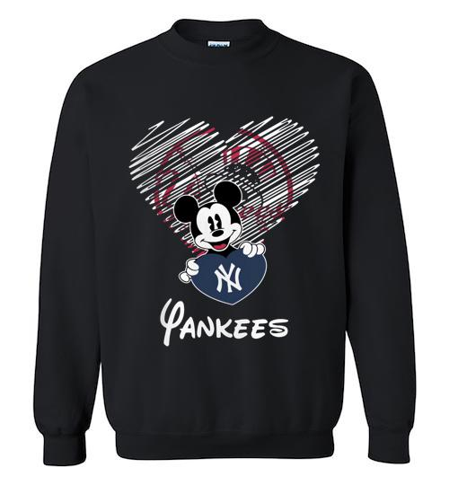 Official New York Yankees Mickey Crewneck Sweatshirt