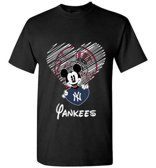 Official New York Yankees Mickey Unisex Classic Shirt