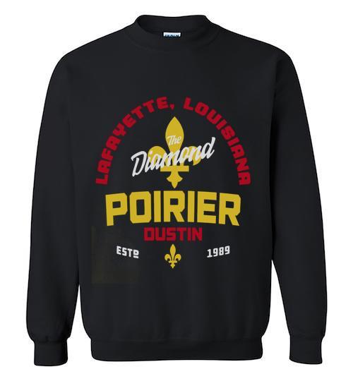 Official UFC legacy series Dustin Poirier Crewneck Sweatshirt