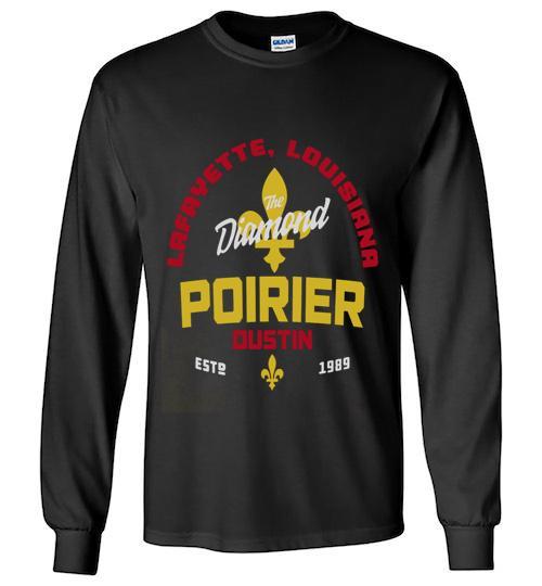 Official UFC legacy series Dustin Poirier Unisex Long Sleeve Shirt