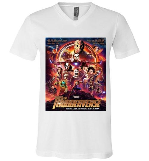 The murderverse horrow halloween Men V Neck Shirt