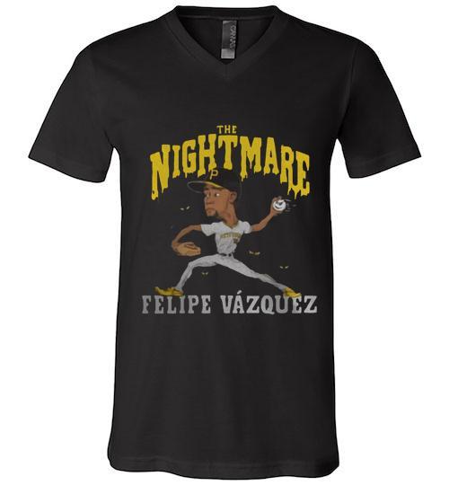 The nightmare Felipe V zquez Men V Neck Shirt