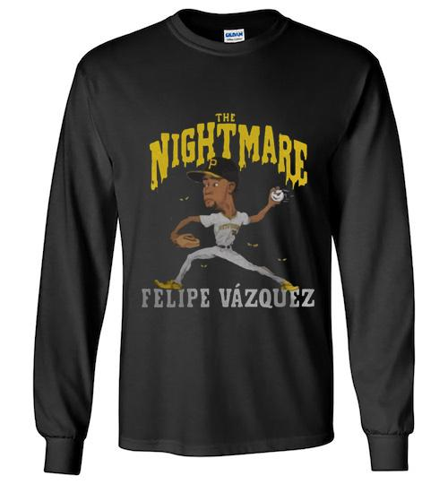 The nightmare Felipe V zquez Unisex Long Sleeve Shirt